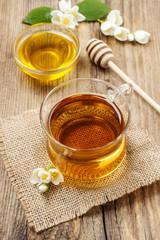 Jasmine tea and honey