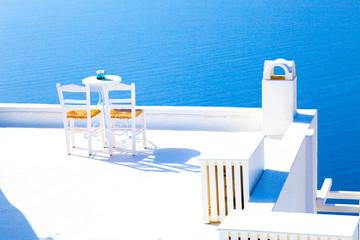 Romantic terrace restaurant,