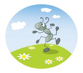 Ant dancing