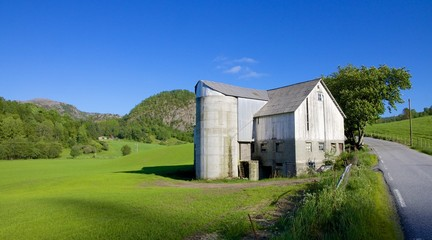 Norwegian Grain Silo 010