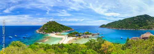 Leinwanddruck Bild Nangyuan island, Suratthani, Thailand