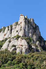 Montserrat Mountain in Catalonia