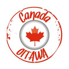 stamp Ottawa, Canada