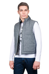 Vest isolated on the white background