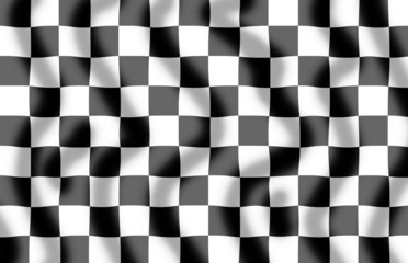 Chequered Flag Slight Ripple