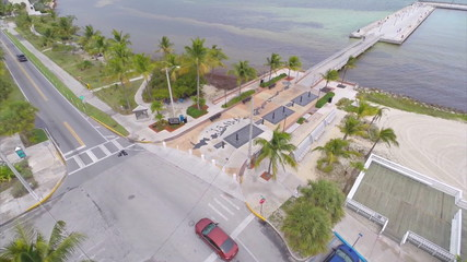 Aerial video Key West Florida