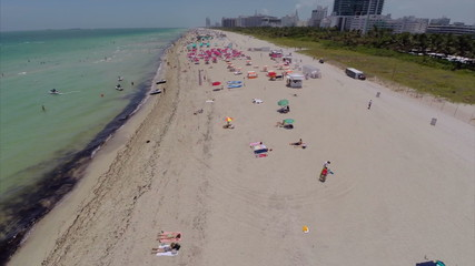 Miami Beach aerial video