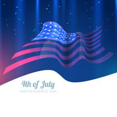 american flag vector design