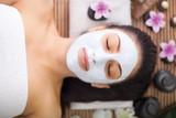 Fototapety adult  woman having beauty treatments in the spa salon