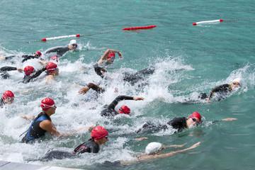 Schwimmwettbewerb