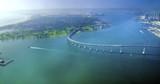 Aerial view of Coronado Island, San Diego - 66564689