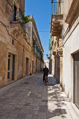 Martano, typical alley - Salento - Italy