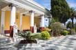 Leinwandbild Motiv Villa Vraila: Schloss auf Korfu - Archilleion Kaiserin Sissi