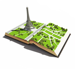 Paris  in the the  open book