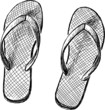 beach slipper - 66567296