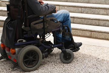 Disabled male