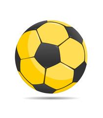 Ball schwarz gelb