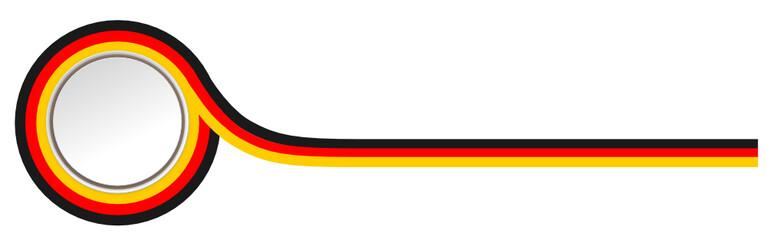 Zeichen Flagge Deutschland