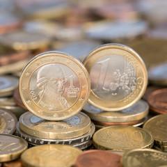 1 Euro Münze aus Österreich Mozart