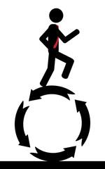 Run on circle