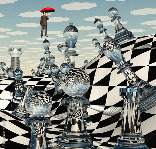 Surreal Chess Landscape © rolffimages