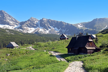 Gasienicowa Valley, Tatra Mountains,