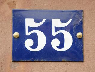 Hausnummer 55