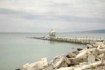seaside landscape in bulgaria