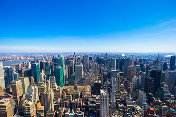 Vew of Manhattan from the Empire State Building, New York