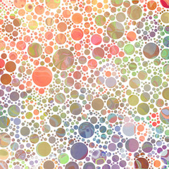 Abstract dots (warm color)