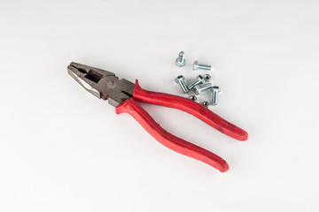 pliers and screws