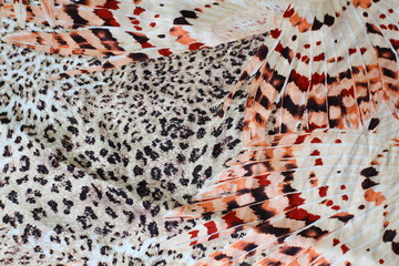 Leopard fabric pattern,silk fabric