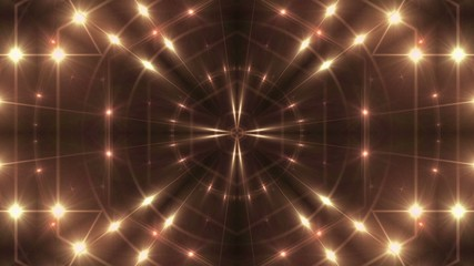 abstract loop motion background, kaleidoscope light
