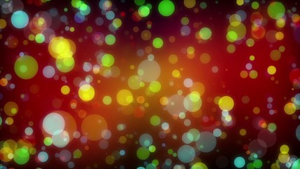 abstract loop motion background, multicolor particle element