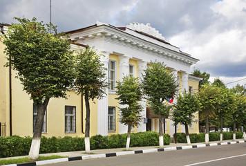 Административное здание в Рузе. Россия