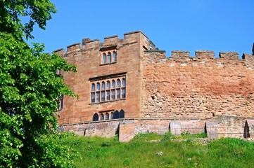 Norman castle, Tamworth, England © Arena Photo UK