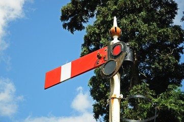 Semaphore railway sign © Arena Photo UK