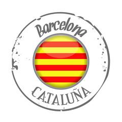 stamp Catalonia