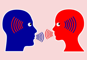 Concept of good Communication is activ listening
