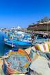 Fish nets in a port of Protaras near Ayia Napa, Cyprus