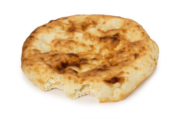 pita on the white background