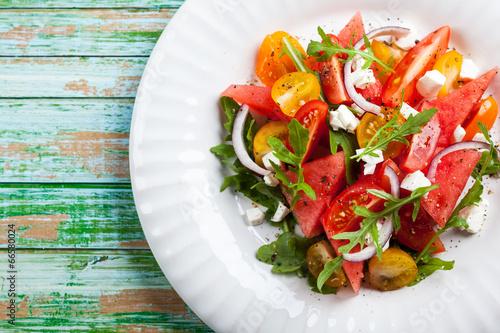Fototapeta Watermelon Salad