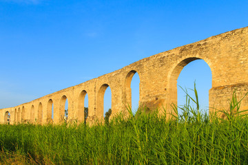 Old Greek aqueduct in Larnaca, Cyprus