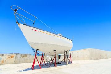 Boats in a Latsi port, Polis, Cyprus