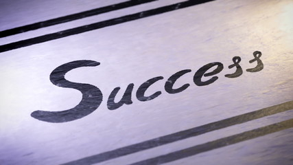 """Success"". looping."