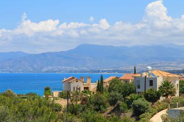 Polis city panorama, Cyprus