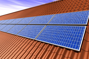 zonnepanelen op pannendak
