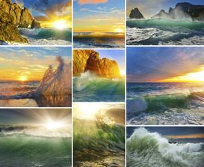 Коллекция морских волн