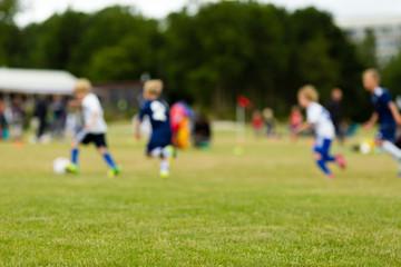 Soccer blur