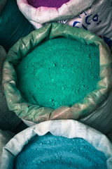 Paint powder in Morocco